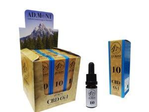 Premium CBD Oil 10%- AD.MONT