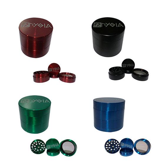 Πυθία Grinder Τρίφτης Μεταλλικός Colour 40mm – 4parts